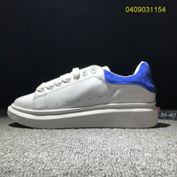 2020 Flat small white shoes shoeslace up casual Cow Leather strap lovers sports shoes woman vulcanize shoes designer shoes