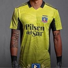 Nouveau 2021 22 Colo Colo gardien Chemises Adulte Colo Colo chili T-shirt homme No. 1 Maillot de Gardien de but