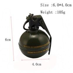 Jedi Chicken Game Throwing Weapons Tear Gas Bomb High Explosive Debris Grenade Smoke Bomb Model Handmade Pendant Hand