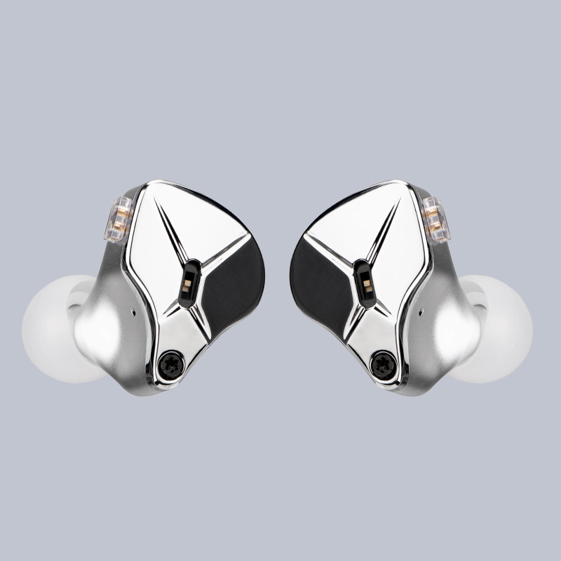 Купить с кэшбэком TFZ KING EDITION In Ear Monitors Professional Earphones Hifi Wired Metal Noise Cancelling Earbuds Detachable Detach 2PIN Cable