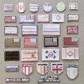 Amerikanische Flagge Patches für Kleidung DIY Streifen Eisen auf Applikationen Thermo Kleidung Aufkleber Stickerei Britische Flagge Abzeichen @ D