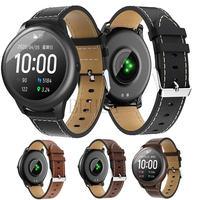 Correa de cuero de repuesto para reloj inteligente Xiaomi haylou solar ls05, pulsera para Haylou RT LS05