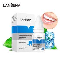 LANBENA dents blanchissant sérum Essence hygiène buccale nettoyant enlever les taches dentaires Plaque dentaire bouche fraîche blanchiment dents outils