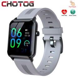 2021 Smart Uhr Männer Frauen Bluetooth Full Touch Smartwatch Herz Rate Ip68 Wasserdichte Sport Tracker Uhren Für Android Iphone