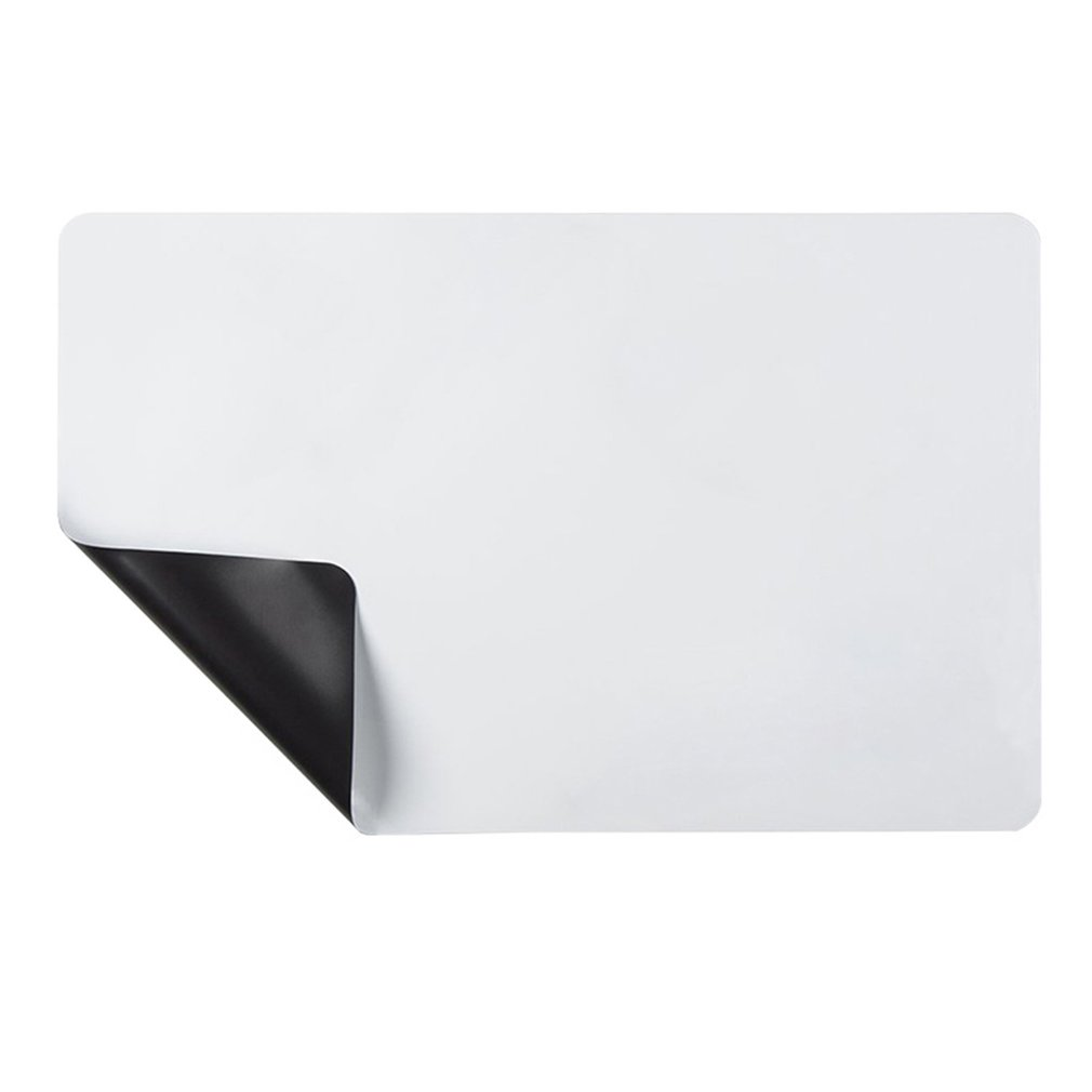A3 Rounded Refrigerator Magnet White Small Whiteboard Children's Magnetic Office Billboard Soft Whiteboards