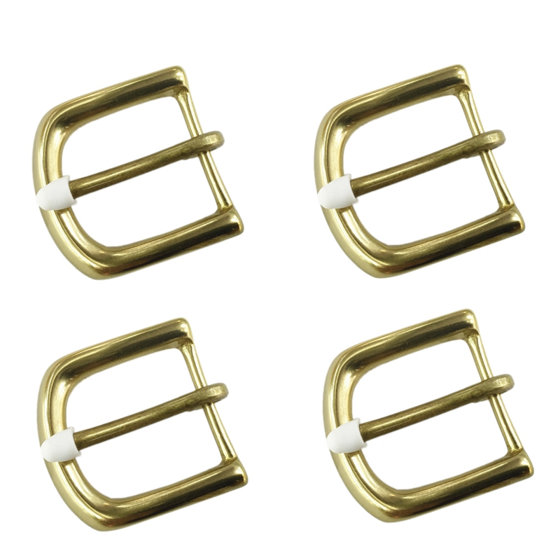 Ladies Brass Pin Buckle Belt Buckle Belt Buckle Solid Copper Buckle Word Buckle D Buckle Handmade Belt Accessories