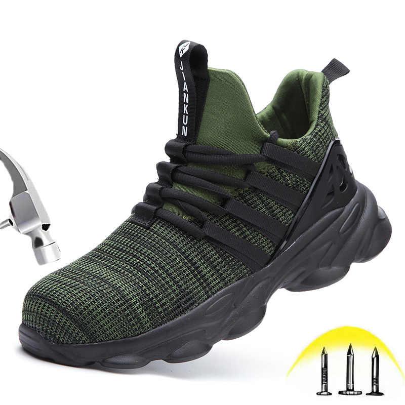 Low cut Safety Shoes Men Women Steel