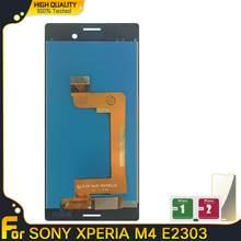 Écran tactile LCD de remplacement, pour SONY Xperia M4 Aqua E2303 E2306 E2353 E2312, haute qualité, nouveau
