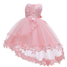 Baby Dress Lace Pegeant Christening Gown Baptism Clothes New