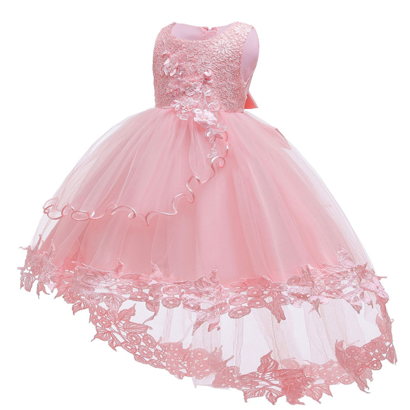 Baby Dress Baptism Clothes Girls Birthday Party-Costume Christening-Gown Newborn Infant title=