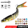 Multi jointed swimbait fishing lures 8 segments crankbait for wobblers pike hard swim bait sinking fish bass 2020 14cm 28g