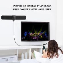 Signal-Receiver Tv-Antenna HDTV Gain Digital 50-Miles Linearity Indoor LNA 1080P 25db