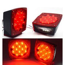 Светодиодный светильник для прицепа, комплект, задний тормоз, лодка, грузовик, стоп, указатель поворота, погружной LX9C