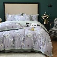 European Sytle duvet cover Modern Luxury Egyptian cotton bed sheet sets pastoral girl bed set queen king size bed set  bedspread