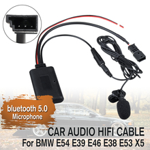 Car Audio Microphone Cable-Adaptor HIFI Bluetooth E46 E39 12V for BMW E54/E39/E46/..