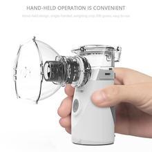 Handheld Facial Steamer Portable Inhale Nebulizer Silent Ultrasonic Inalador Nebulizador Children Adult Automizer Steaming