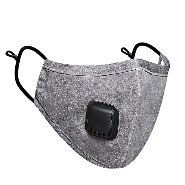 PM 2.5 Mask Full Face Protective Mask Anti-Dust Flu Mouth Masks Kn95 Respirator Activated Carbon Washable Breathing Apparatus 5