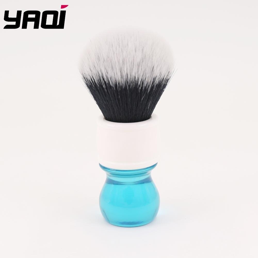 Yaqi 24mm Aqua Tuxedo Synthetic Hair Shaving Brush