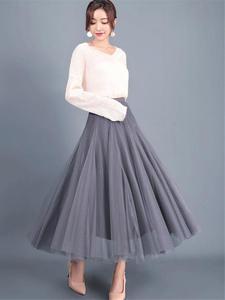 Color Petticoat Long...