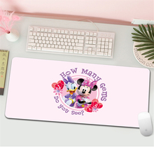 Mickey Computer Mouse Pad women girl Gaming MousePad Large Mouse pad Gamer  Mause Carpet PC Desk Mat Cartoon keyboard pad Gift