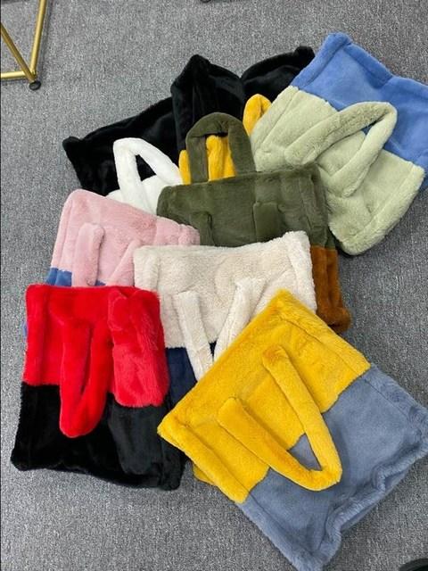 2020 hiver femmes haute qualité Faux lapin fourrure manteau de luxe longue fourrure manteau revers pardessus épais chaud grande taille femelle en peluche manteaux 6