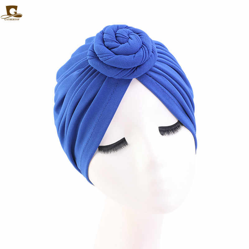 Chapeau indien à nœud torsadé pour femmes, Turban, chapeau chimio, bandeau à la mode, accessoires pour cheveux
