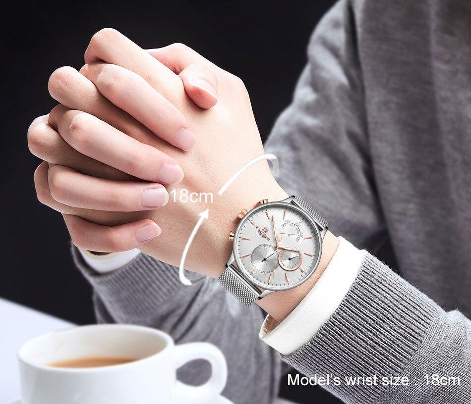 Hd8efba874c20480c838901f0946e9d65P NAVIFORCE Men's Watch Top Luxury Brand