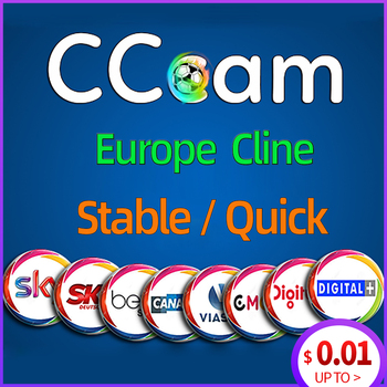 Cams Europe Cline For 1/2 Year C-Cline Spain Stable DVB-S2 Server HD Oscam Germany For Satellite TV Decoder Receiver 15pcs second hand hua wei hg8310m 1ge gpon ont onu without box