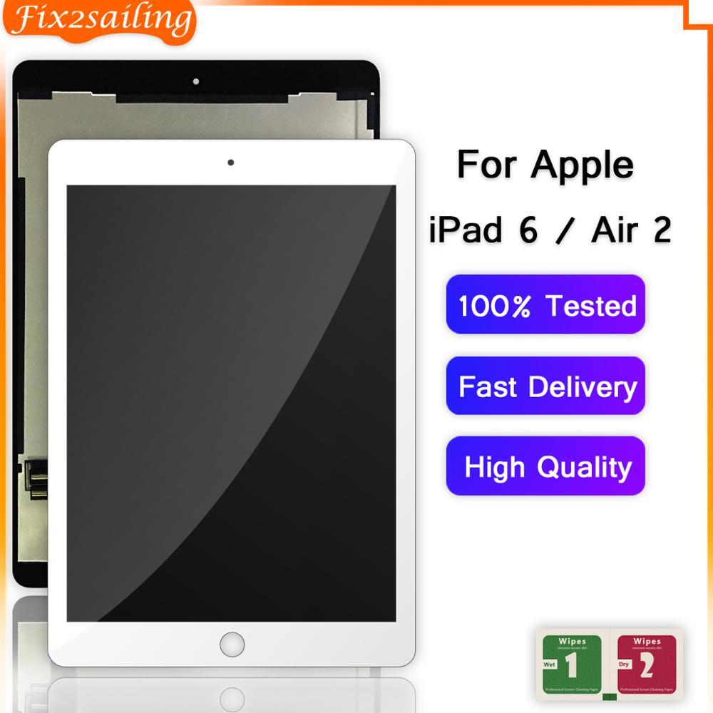 Fix2sailing Replacement Digitizer Lcd-Display A1567 Touch-Screen Apple iPad Assembly-Panel title=