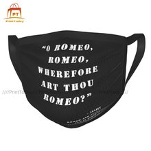 Romeo And Juliet Mouth Face Mask Cloth Funny Reusable Wholesale Adult Facial Mask