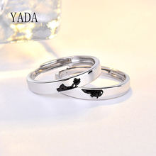 Yada Подарки Регулируемые Простые Длинные Кольца для мужчин