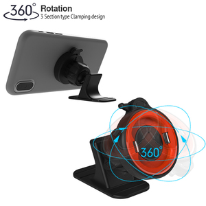 Image 2 - Car Holder Phone No Magnetic Mount Dashboard Mobile Phone Holder For Car Washable Strong Grip Iphone Cars Holder