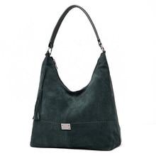 Suede Female Hobos Bags Women Shoulder Bag Suede & PU Leather Large Top handle Bag Crossbody Handbag Casual Lady Messenger Bags