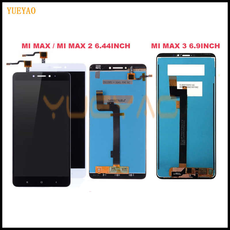 LCD For Xiaomi Mi Max 3 LCD Display Touch Screen Digitizer Assembly For Xiaomi Mi Max 2 LCD Max3 Screen Replacement