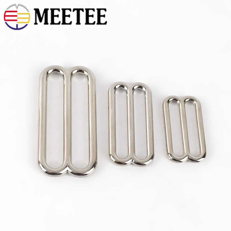 20mm 34 Yellow Gold Adjuster Triglide with Movable Bar US Shipping or 25 PACK 5 bulk discounts! 10