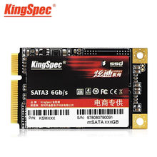 KingSpec mSATA SSD Solid State Disk SATA III de 120gb 128gb 256gb 500gb 512gb 1 3 tb SATA ssd Hard Drive para notebook laptop