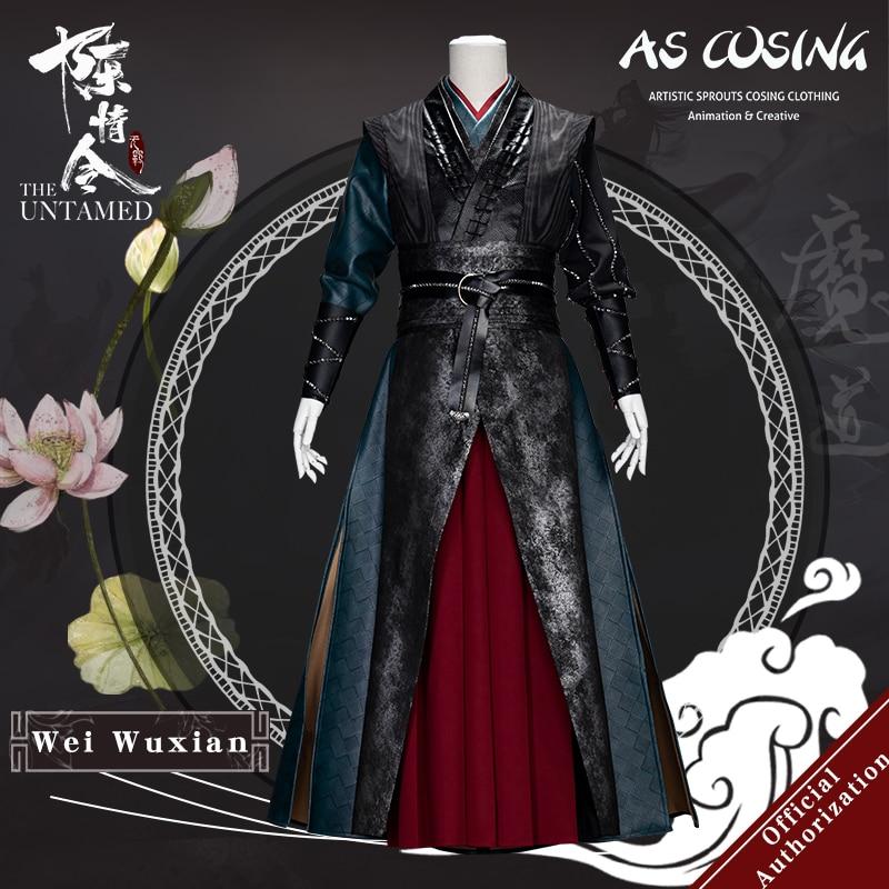 In Stock Uwowo TV Series Mo Dao Zu Shi The Untamed Wei Wuxian Cosplay Costume Wei Ying Rivet Version