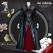 Uwowo TV Series Mo Dao Zu Shi The Untamed Wei Wuxian Cosplay Costume Wei Ying Rivet Version Cosplay Costume For Men