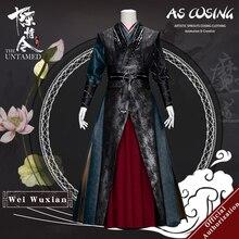 Uwowo série de tv mo dao zu shi o undomed wei wuxian cosplay traje wei ying rebite versão cosplay traje para homem