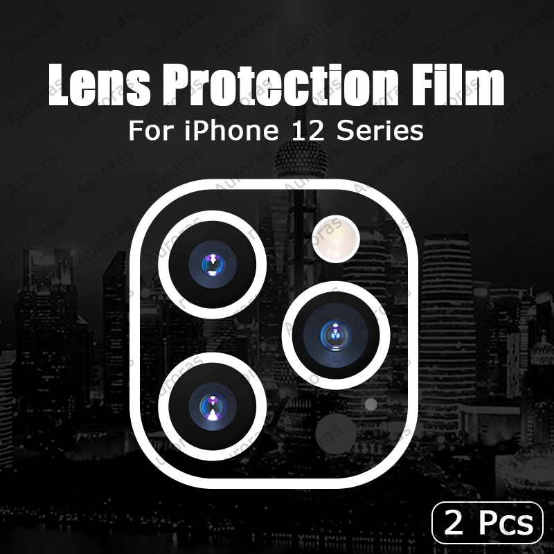 Tempered Glass Camera Lens Protector Cover for iPhone 12 Pro max