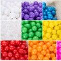 7 センチメートル/50 個環境にやさしいカラフルなボールピットソフトプラスチックオーシャンボール透明水海波ボールのおもちゃ子供キッズベビー