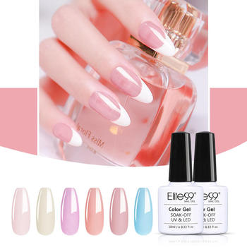 Elite99 6 pieces/lot Nail Gel Set Soak Off UV LED Nail Varnish For Manicure 10ml Candy Color Gel Nail Polish Nail Art Lacquer