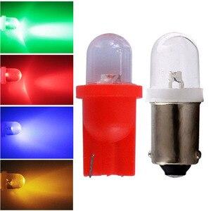 10pcs T10 194 W5W BA9S T4W 6V 6.3V Pinball Led Lights for Bally Pinball Game Machine white red blue yellow green DC 6V light(China)