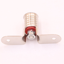 50PCS/LOT E10 Bulb Holder, Bridge mounting, solder connections