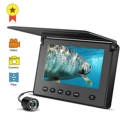 LUCKY Portable Underwater Fishing&Inspection Camera Night vision Camera 4.3 Inch 1000TVL Waterproof IP68 20M Cable for Ice/Sea