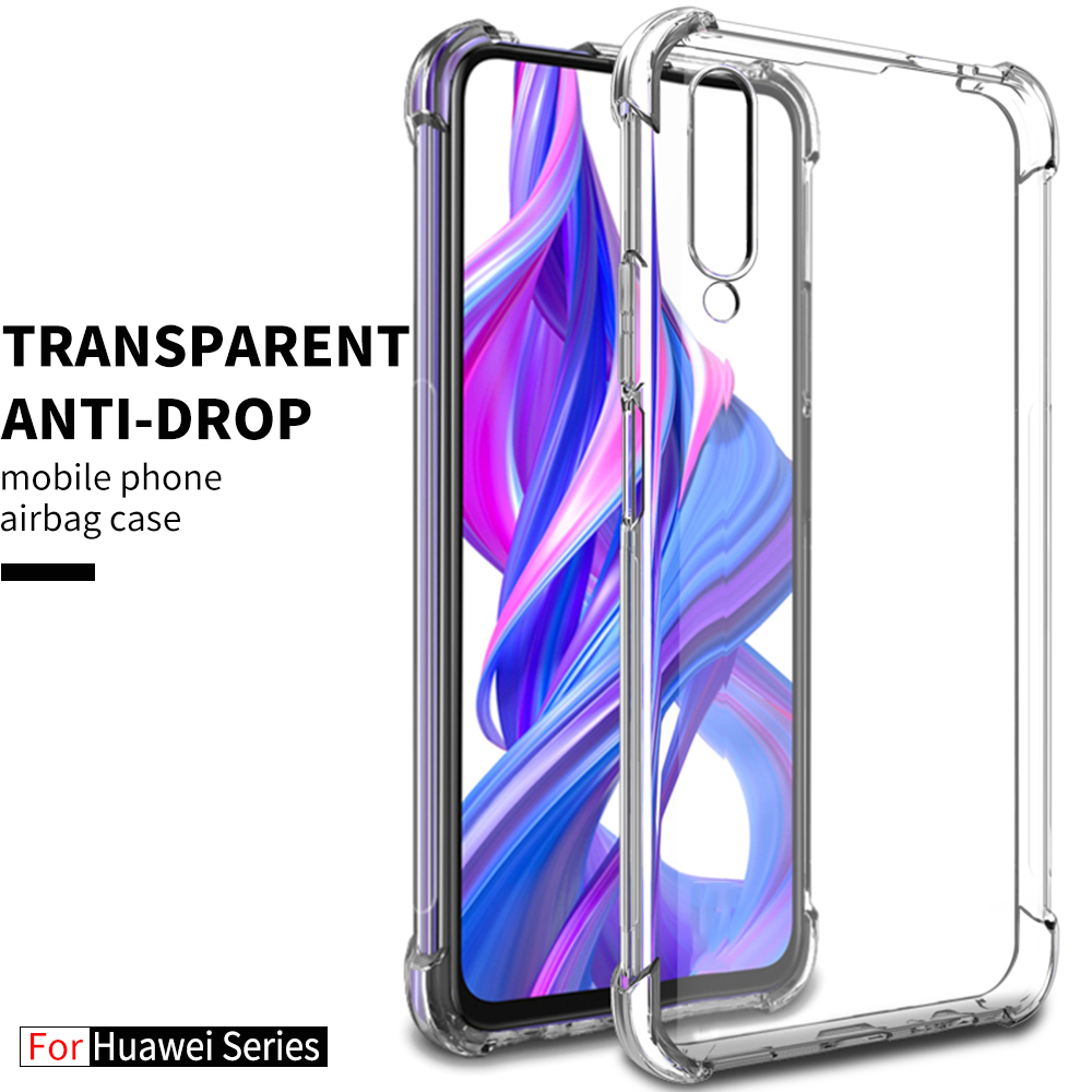 Airbag Anti-fall Phone <font><b>Case</b></font> For huawei <font><b>honor</b></font> 8x 20 10 lite pro <font><b>20i</b></font> TPU Back <font><b>Case</b></font> For huawei y9 prime p smart z plus 2019 nova 3i image