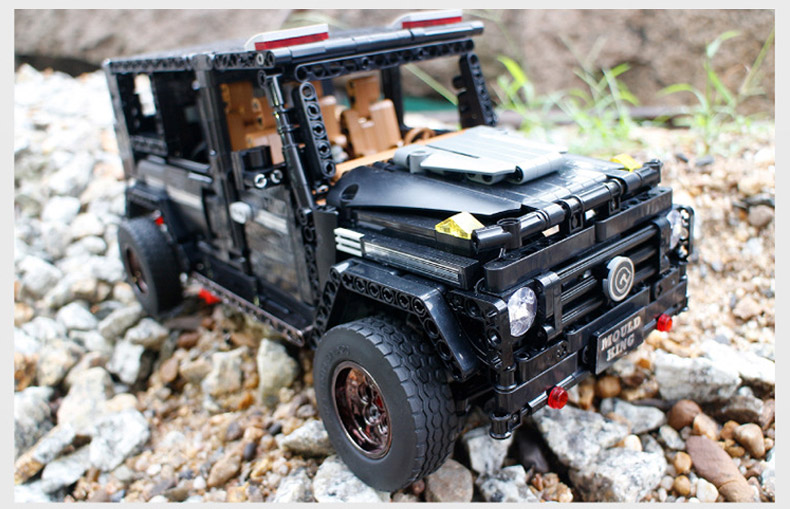 MOULD KING MOC 20100 Compatible 13070 Technic  Benz SUV G500 AWD Wagon Offroad Vehicle Building Block 21