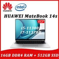 2021 HUAWEI MateBook 14S 14.2inch laptop Intel Core i5-11300H/i7-11370H 16G 512GB 2.5K Touch full-Screen 90Hz Ultraslim Notebook 1