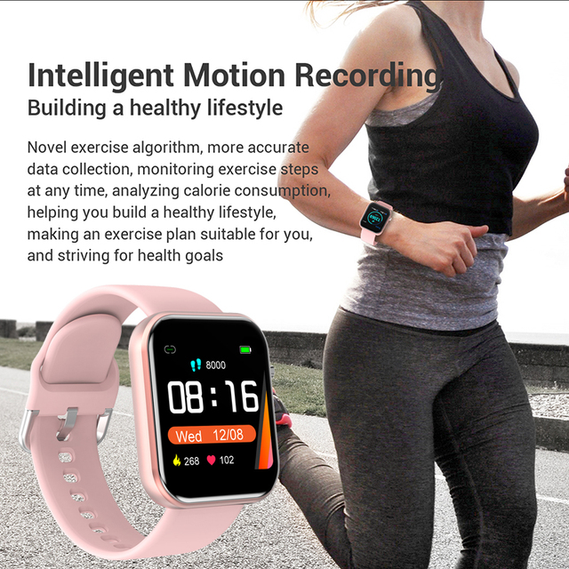 Digital Watch Women Sport Men Watches Electronic LED Ladies Wrist Watch For Android IOS Fitness Clock Female Male Wristwatch+box 6