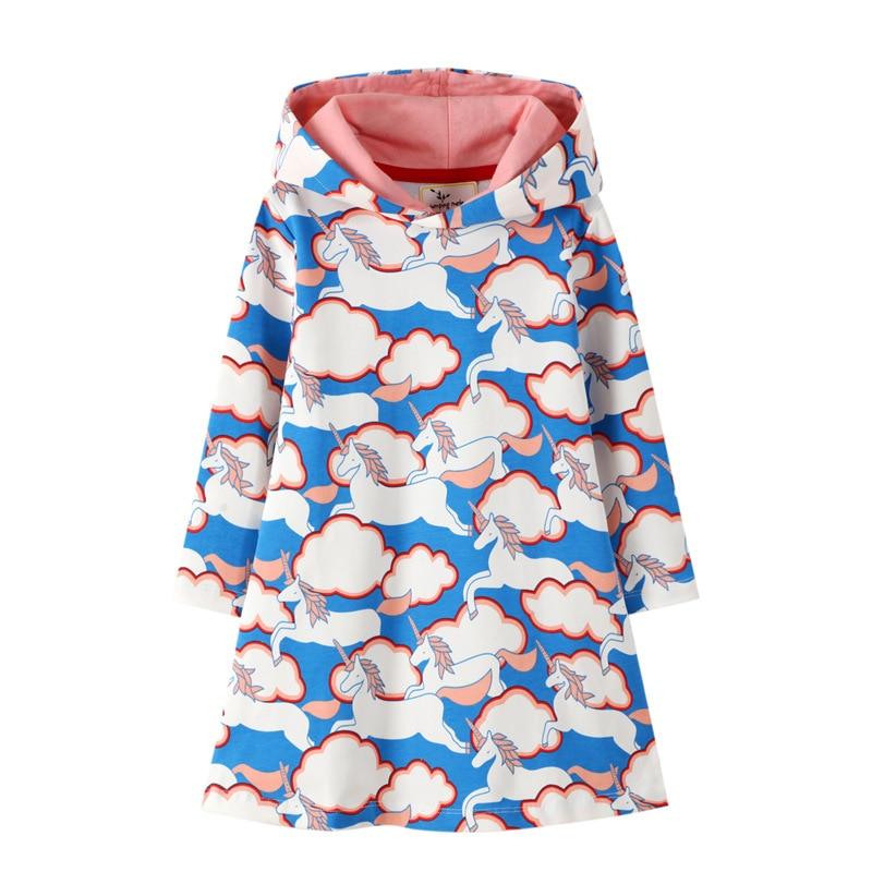 Ragazze-Con-Cappuccio-Vestito-Nuvola-di-Cotone-Vestiti-Del-Bambino-per-Vestiti-Per-Ragazze-Autunno-di